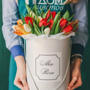 Mia Rosa. 25 тюльпанов