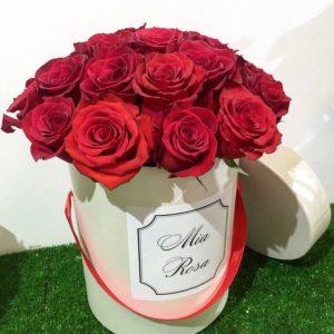 Mia Rosa. 15 роз