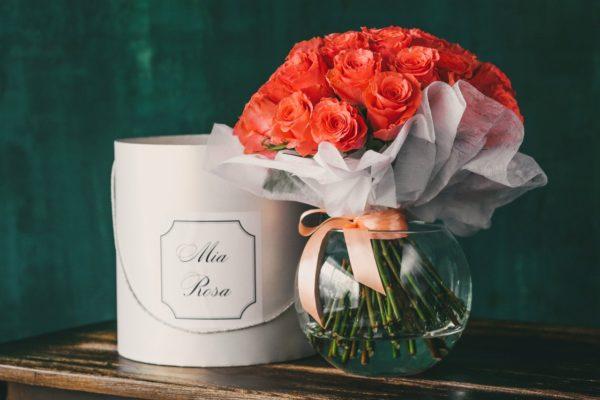 Mia Rosa. 25 роз