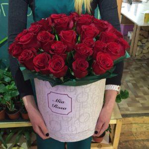 Mia Rosa. 50 роз