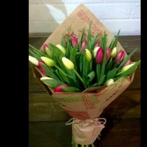 "Букет #67 ""Тюльпаны"""