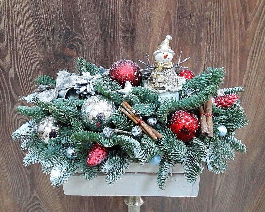 Композиции букеты новогодняя сказка, склад цветов