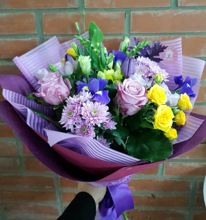 Букет цветов, букет на дом красноярск